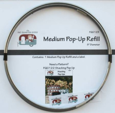 "FQG123 Medium 8"" Pop Up Refill"