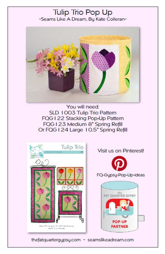 Tulip Trio Pop Up Info Sheet
