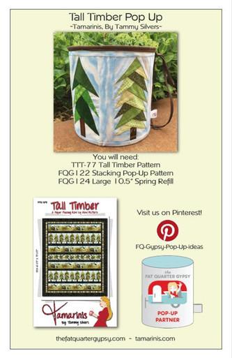 Tall Timber Pop Up Info Sheet
