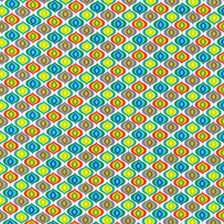 """Calypso Goldfish Ogie - White by Paintbrush Studio Dimension of Image: 7-5/8"""" square"""