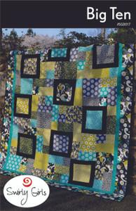 Big Ten Quilt Pattern