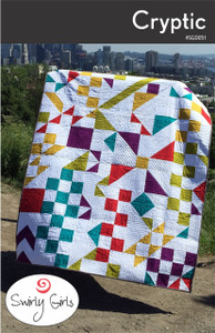 Cryptic Quilt Pattern - PDF Printable