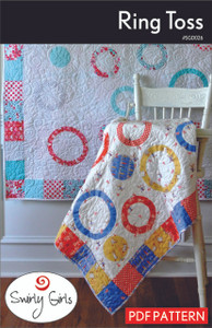 Ring Toss Quilt Pattern - PDF Printable