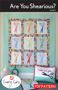 Are You Shearious? Quilt Pattern - PDF Printable