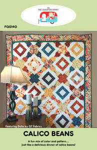 FQG140 Calico Beans quilt pattern