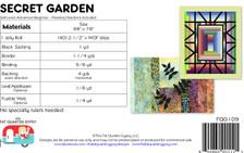 FQG109 Secret Garden Pattern