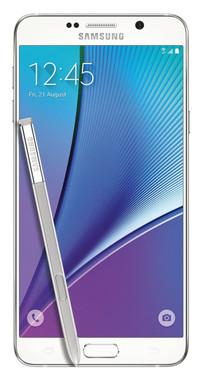 Samsung Galaxy Note 5 64GB White Pearl- ATT GSM Unlocked- Refurbished