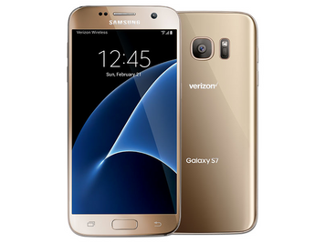 Samsung Galaxy S7 32GB Gold Platinum for Verizon Wireless -Refurbished