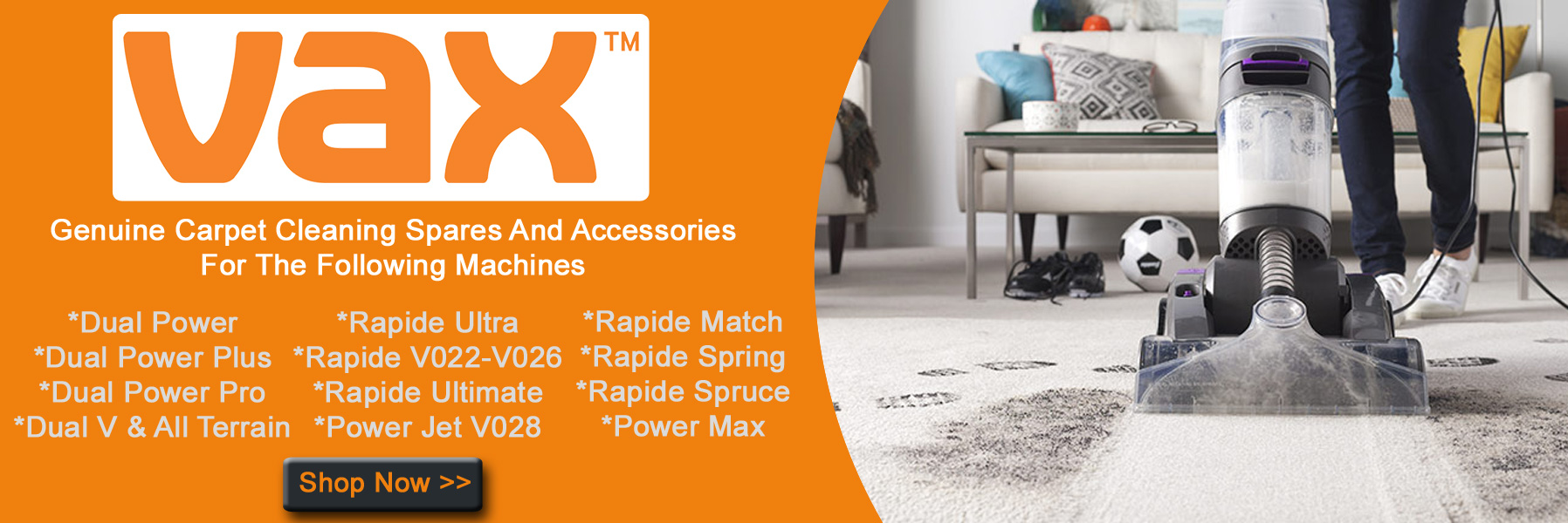 VAX Carpet Cleaner Spares And Accessories