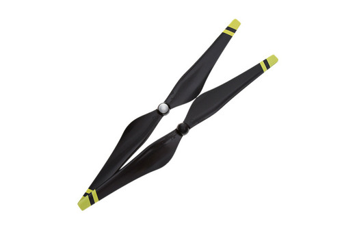 Inspire 1 1345 Self-tightening Props (Yellow Stripes)