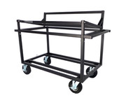 Double Speaker Stack Cart