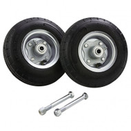 "8"" Solid Rubber Tires w/Bolts (for 6' Command Center)"
