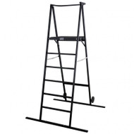 Black 6' Space Saver (Ladder) Podium