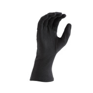 Black Long-wristed Cotton Gloves