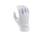White Economy Hook/Loop-grip Gloves