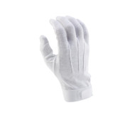 White Deluxe Hook/Loop-grip Gloves