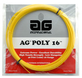 AG Poly 16 Polyester Tennis String Set