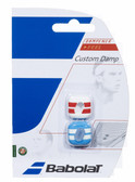 Babolat Custom Damp Vibration Dampener-Blue/Red