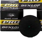 Dunlop Pro High Altitude - Green Dot-One dozen Squash Balls