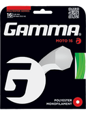 Gamma Moto Tennis String Set-16-Black