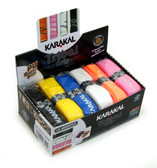 Karakal PU Super Tribal Grip Box 12 Replacement Grip-Assorted Colors
