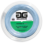 AG Millenium Coarse Tennis String Reel-17-Light Blue