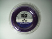AG 16 Synthetic Gut Tennis String Reel-16-Violet