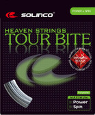 Solinco Tour Bite Diamond Rough Tennis String Set-17G-Silver