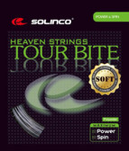 Solinco Tour Bite Soft Tennis String Set-17G-Light Silver