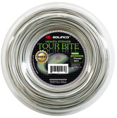 Solinco Tour Bite Soft Tennis String Reel-16L-Light Silver