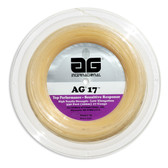 AG 17 Synthetic Gut Tennis String Reel-17-Natural