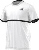 Adidas Men's Court Tee-White/Black