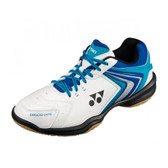 Yonex Unisex Power Cushion 47 Indoor Court Shoe-Blue/White