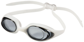 Leader Circuit Swimming Goggles Narrow - Smoke/White