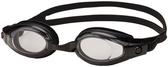 Leader Island Swimming Goggles Narrow - Smoke/Black