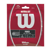 Wilson Natural Gut 17G Tennis String Set - Natural