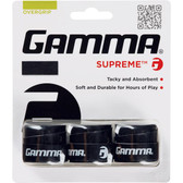 Gamma Supreme Overgrip 3-Pack - Black