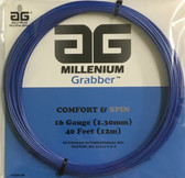 AG Millenium Grabber 16G Tennis String Set - Blue