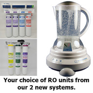 NEW Undercounter RO / Vitalizer Plus Combo - Save an extra $257 off these already discounted products when you bundle!