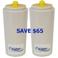 Ewater Revitalizing Shower Filter Replacement Cartridge - 2 Pack