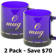 Cobalt Blue Deluxe Emug - 2 Pack (Save $70)