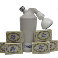 Ewater Revitalizing Shower Filter with Toxic Free Soap