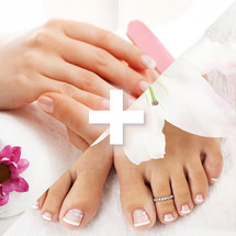 Hand or Foot Infinite Shine Add On x 2 - 15 mins