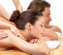 Couple's Stone + Spa Massage Package - 50 mins