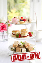 High Tea With The Girls Package (Add On) - $35 per person