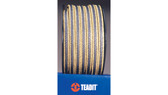 Teadit Style 2017 Expanded PTFE, Graphite, with Aramid Corners Packing,  Width: 1/4 (0.25) Inches (6.35mm), Quantity by Weight: 2 lb. (0.9Kg.) Spool, Part Number: 2017.250x2
