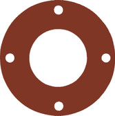 7175 Style Silicone 50-60 Durometer Full Face Gasket For Pipe Size: 1(1) Inches (2.54Cm), Thickness: 1/16(0.0625) Inches (0.15875Cm), Pressure: 300# (psi). Part Number: CFF7237.100.062.300