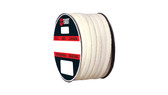 Teadit Style 2019 Synthetic Yarn with PTFE, Lubricated Packing,  Width: 1/8 (0.125) Inches (3.175mm), Quantity by Weight: 10 lb. (4.5Kg.) Spool, Part Number: 2019.125X10