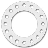 7530 Style PTFE, Virgin PTFE Full Face Gasket For Pipe Size: 18(18) Inches (45.72Cm), Thickness: 1/16(0.0625) Inches (0.15875Cm), Pressure: 150# (psi). Part Number: CFF7530.1800.062.150