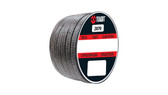 Teadit Style 2070 EGK Yarn, Expanded PTFE-Graphite/Aramid Yarn Packing,  Width: 1/4 (0.25) Inches (6.35mm), Quantity by Weight: 2 lb. (0.9Kg.) Spool, Part Number: 2070.250x2